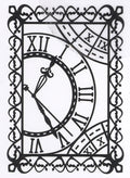 Embossing folder 5 X 7 - Magnolia Lane Collection - Timeless Garden