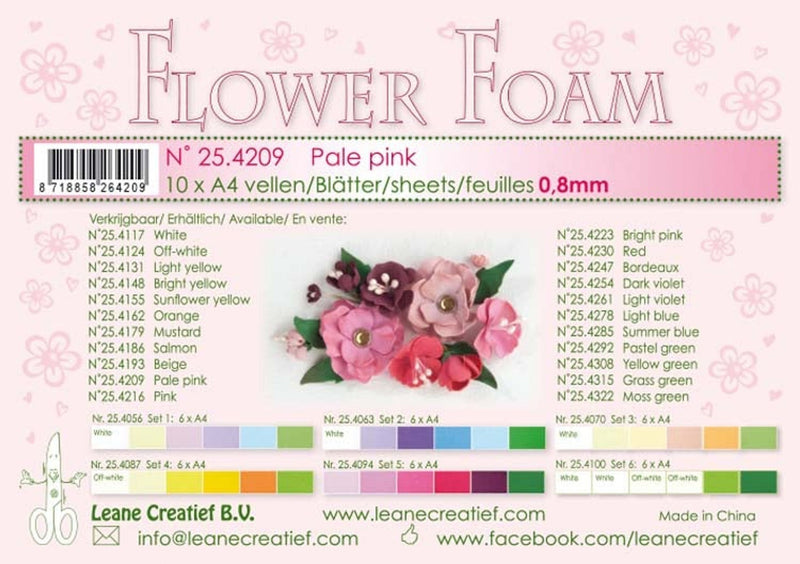 Flower Foam 10 A4 Sheets