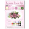 Flower Foam Set 8 6 A4 Sheets - Rose