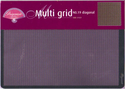 Multi Grid No.19 Diagonal (Bold)