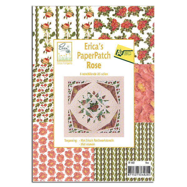 Erica's Paper Patch Rose 6 Sheets A5 Paper