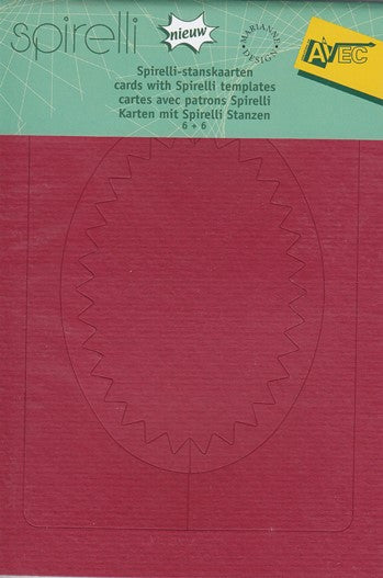 Spirelli Cards/Templ.Red/Green(SP2531)