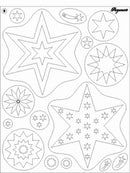 Clear Stamps - Stars