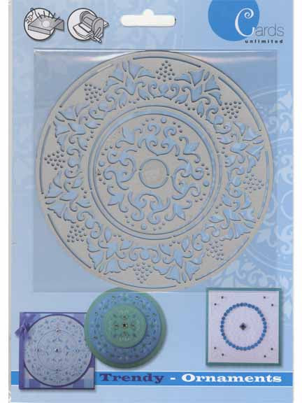 Trendy Ornaments Elegant Circles