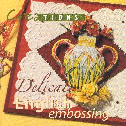 Delicate English Embossing Book
