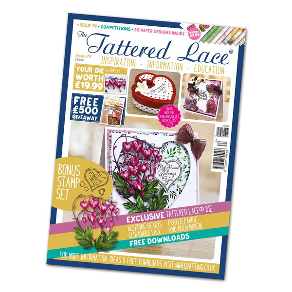 Tattered Lace Magazine Issue #74 with FREE Die