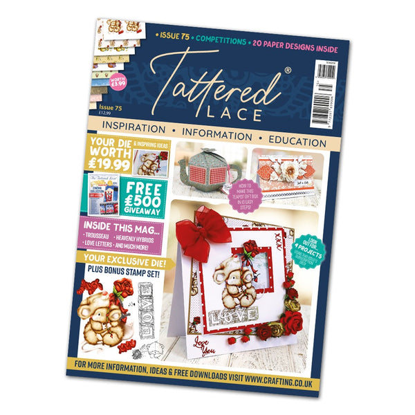 Tattered Lace Magazine Issue #75 with FREE Die