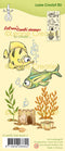 Lecreadesign Combi Clear Stamp Fish 2
