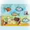 Lecreadesign Combi Clear Stamp Fish 1