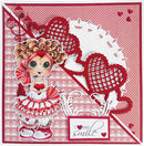 Joy! Crafts Cutting & Embossing Die -Heart Border