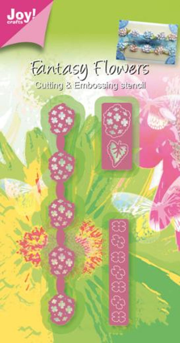 Joy! Crafts Cutting & Embossing Die -3D Fantasy Flower Border