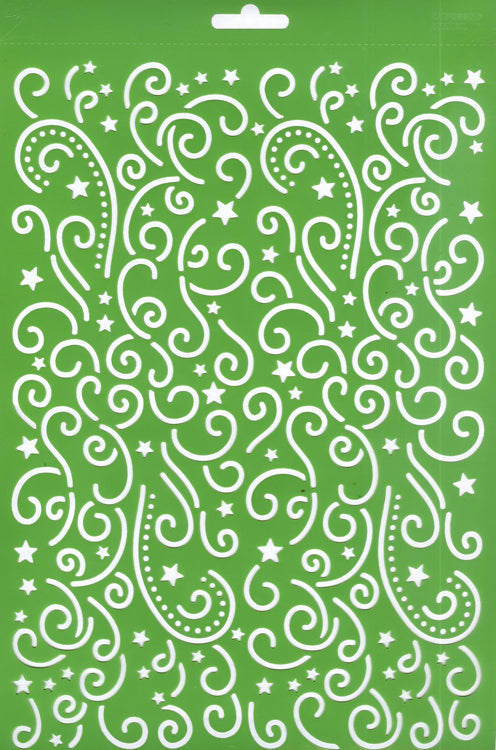 Joy! Embossing Stencil - Doodles