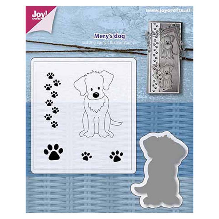 Joy! Crafts Die & Stamp Set - Merys Dog