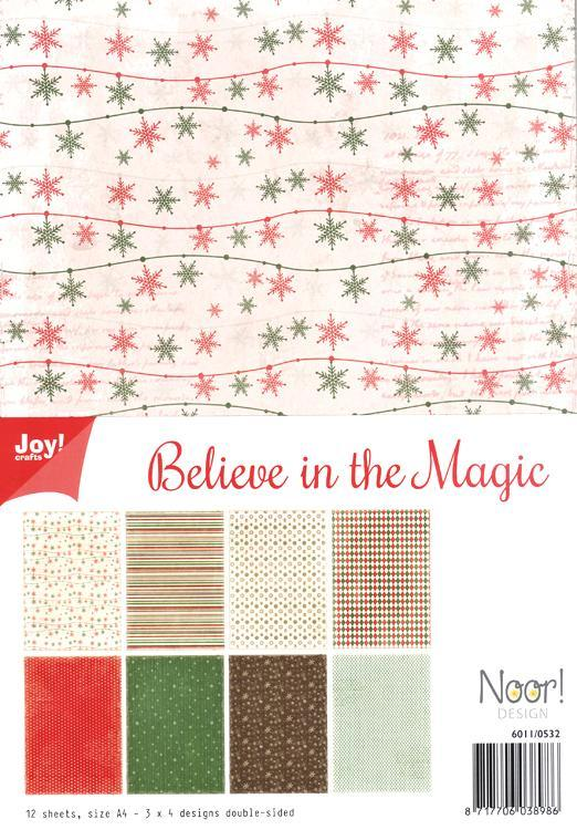 Joy! Crafts A4 Paper - Believe in the Magic