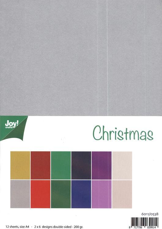 Joy! Craft Papers - Christmas