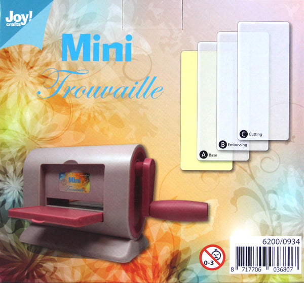 Joy! Crafts - Mini-Trouvaille Cutting & Embossing Machine