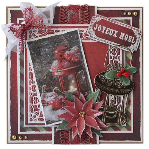 Joy! Crafts Clear Stamp Set-Happy Holidays