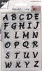 Joy Crafts - Clear Stamp Set - Alphabet Uppercase