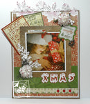 Joy Crafts - Snow Alphabet Clear Stamp Set