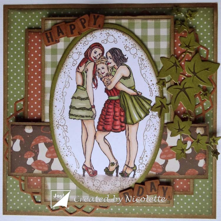 Joy! Craft Clear Stamp - Friendship