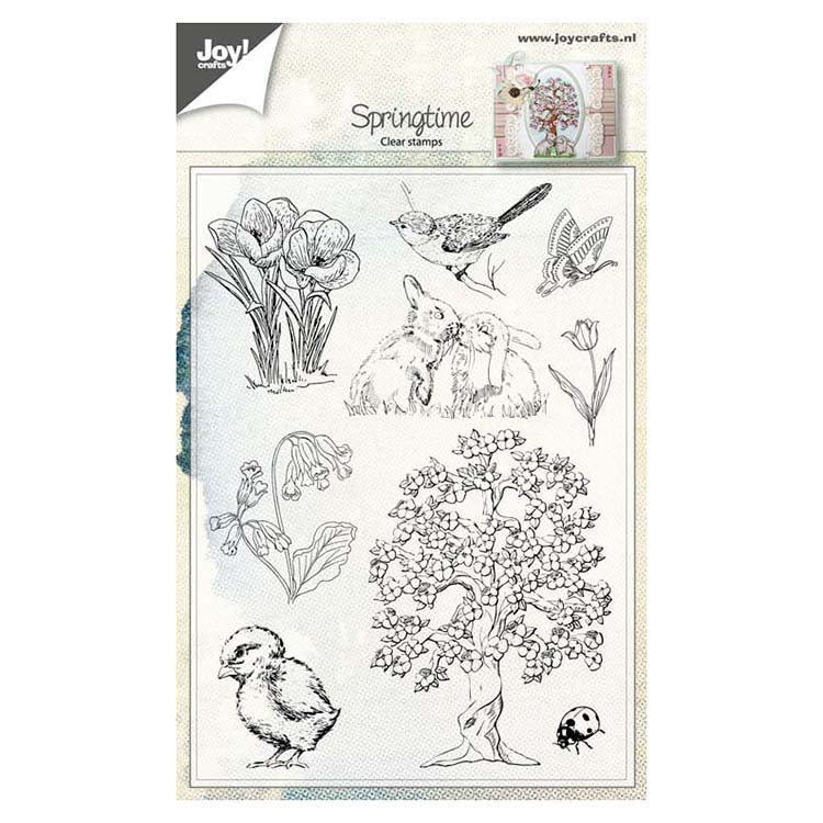 Joy! Crafts Clear Stamp - Spring