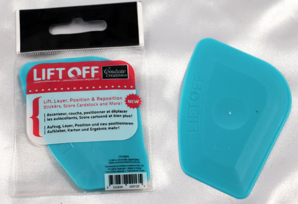 Couture Creations /'LIFT OFF/' Tool to lift /& positions Stickers NEW Card Making