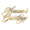 Hot Foil Stamp - Seasons Greetings