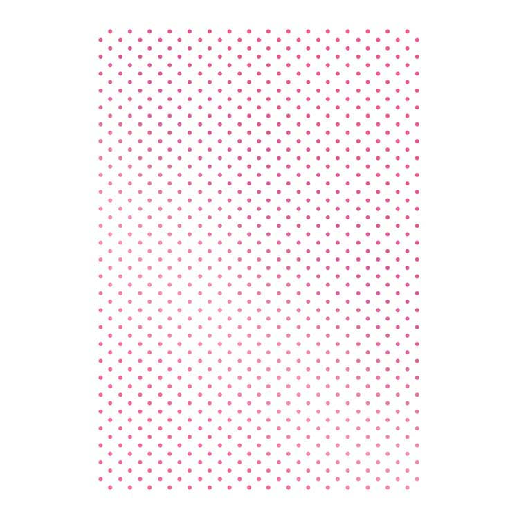 Couture Creations Hotfoil Stamp - Swiss Dots Background