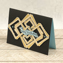 Cut, Foil and Emboss - Framework - Nesting Square Set (4pc)