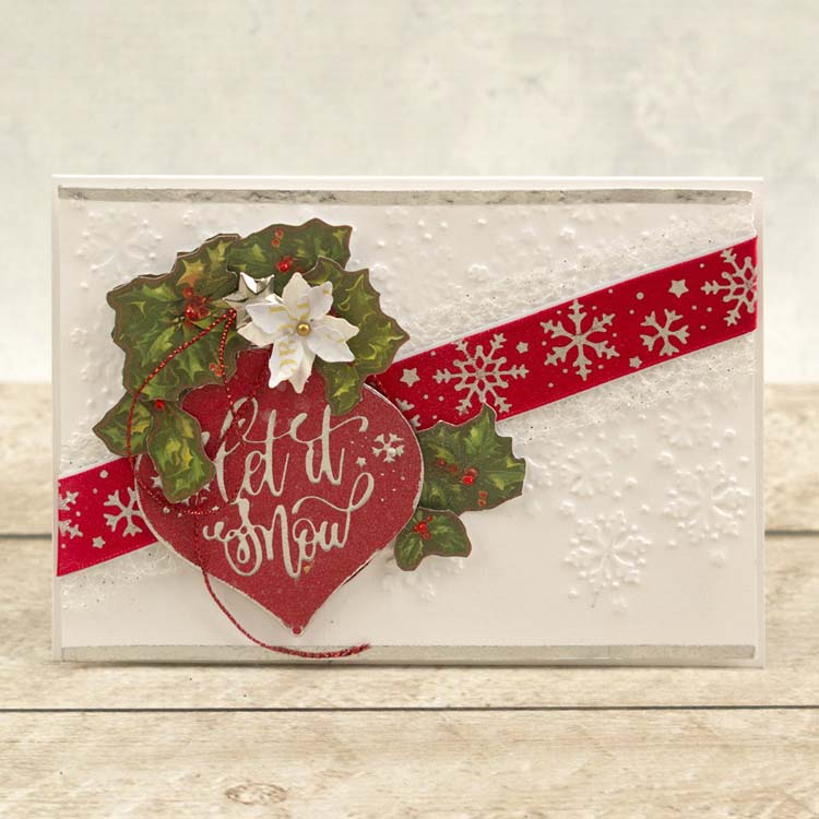 Couture Creations Christmas Borders Hotfoil Stamp Set