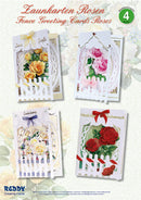 Card Kit - Fence Cards with Roses