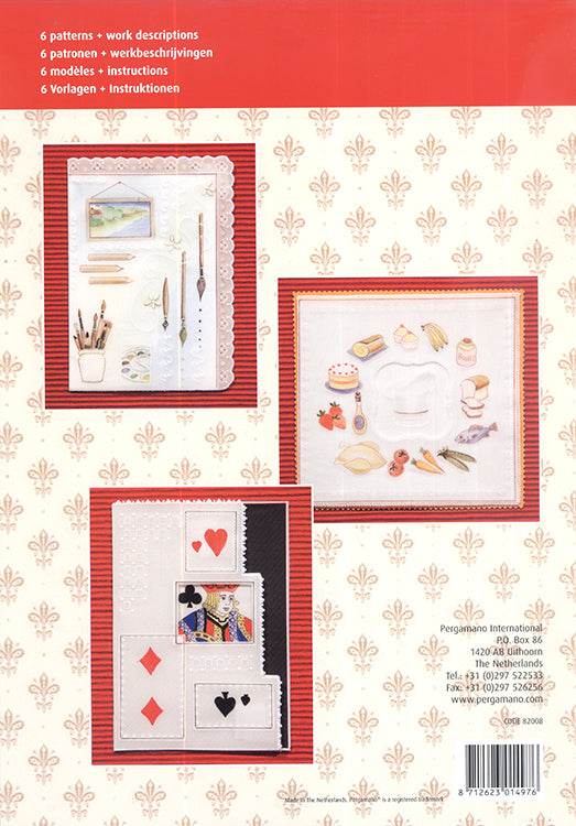 Pergamano Pattern Booklet M98 Hobbies on Parchment