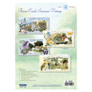 3D Summer Vintage Flower Cardmaking Kit 1