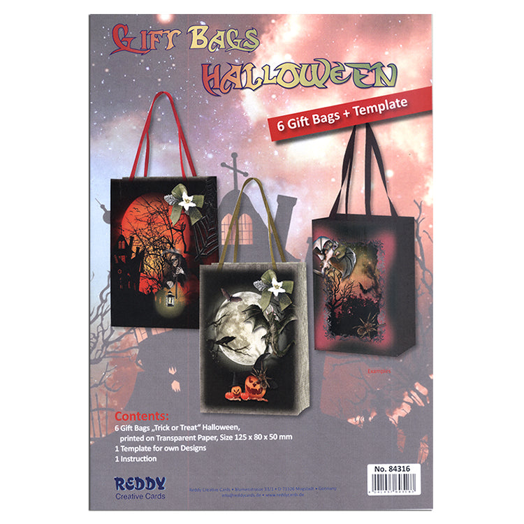 Halloween - Trick or Treat Bag Kit - 6 bags