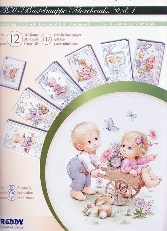 3D cardmaking Book Morehead 24 cards