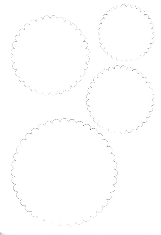 Le Crea Design - Spirella Cards - 12 Pre Cut Circles