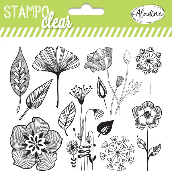 Stampo Flowers Clear Stamp