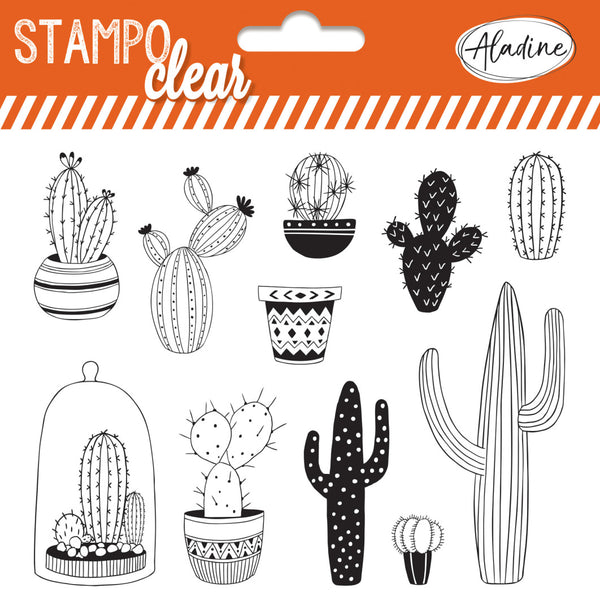 Stampo Cactus Clear Stamp