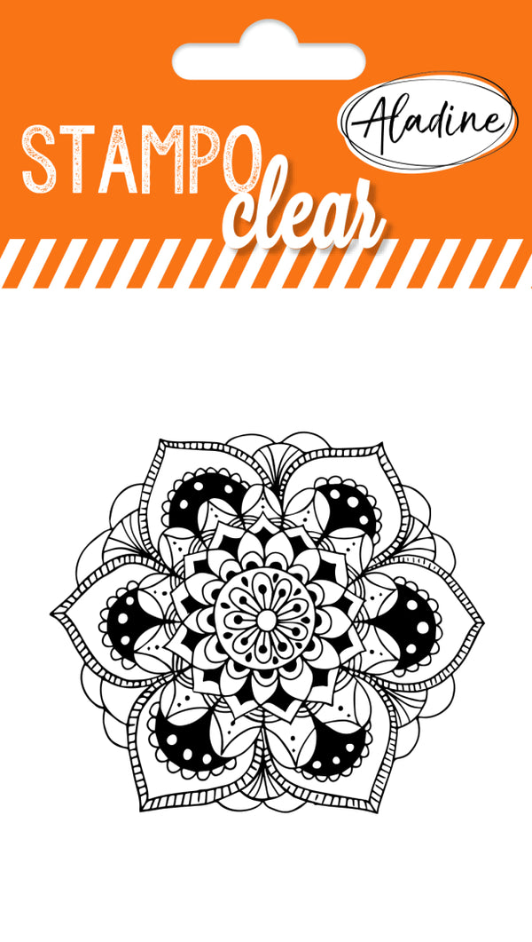Stampo Individual Mandala 1 Clear Stamp