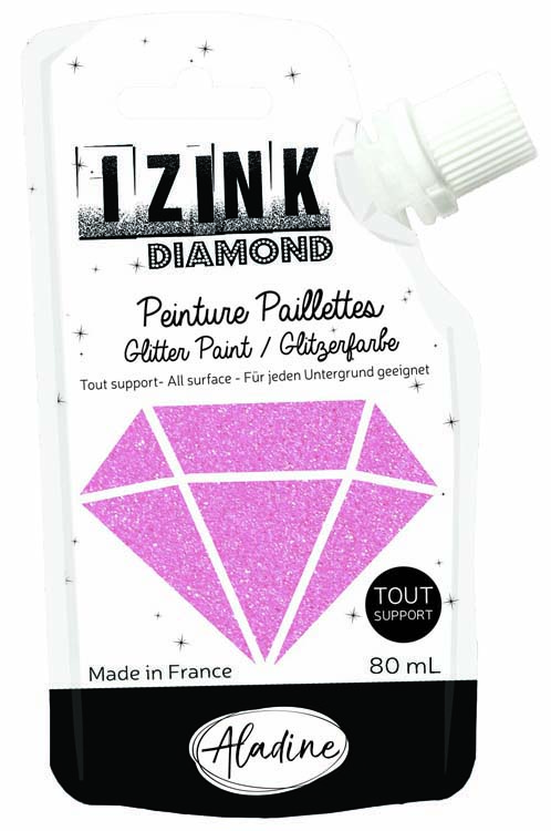 Aladine IZINK Diamond Glitter Paint 80 Ml