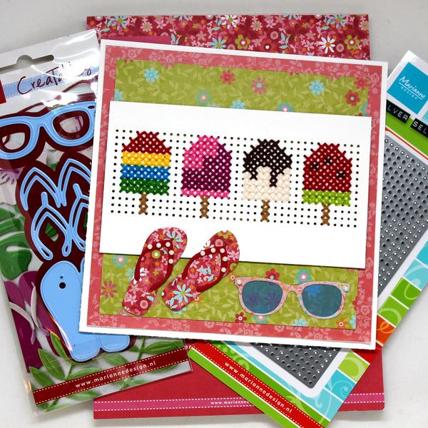 Popsicle Cross Stitch Cardmaking Bundle