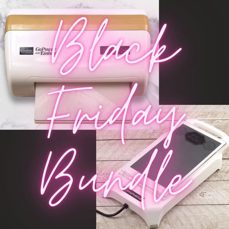 Black Friday GoPower & Emboss/GoPress & Foil Bundle