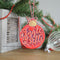 Paper Panda Christmas Baubles Joy & Jingles Bells Craft Die