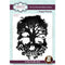 Paper Panda A Mind To Be Wild 4.1 in x 5.6 in Pre Cut Rubber Stamp