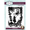 Paper Panda Cheshire Cat 3.9 in x 5.5 in Pre Cut Rubber Stamp