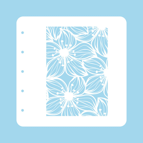 Stencil A6 For Magnetic Colour Set Flower 2