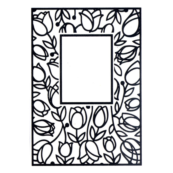 Embossing Folder Tulip Window