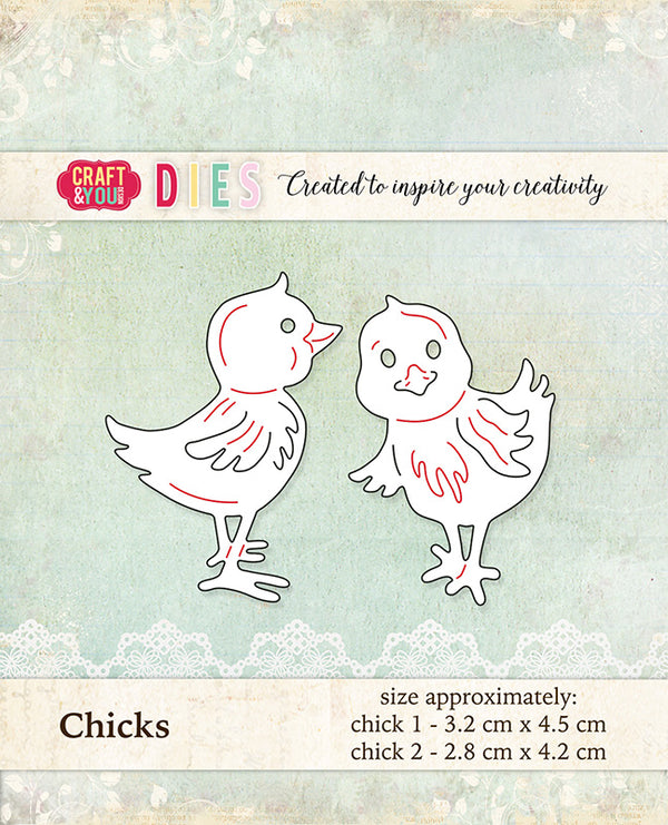 Craft & You Design Dies Chicks