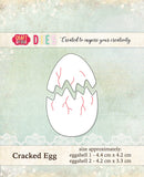 Craft & You Design Dies Cracked Egg