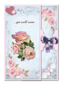 Flower Card Kit Shabby Chic - 1
